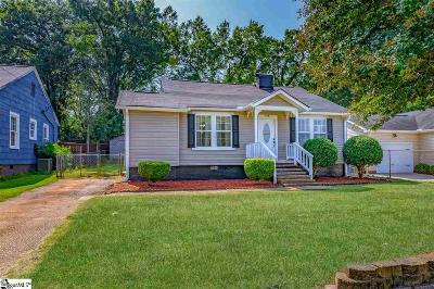 Greenville Single Family Home For Sale: 109 Brunson