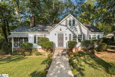 Greenville Single Family Home For Sale: 103 Whitehall