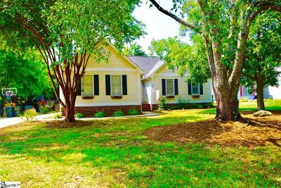 Simpsonville Single Family Home For Sale: 107 W Marley