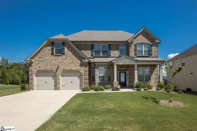 Simpsonville Single Family Home For Sale: 1 Foxhill