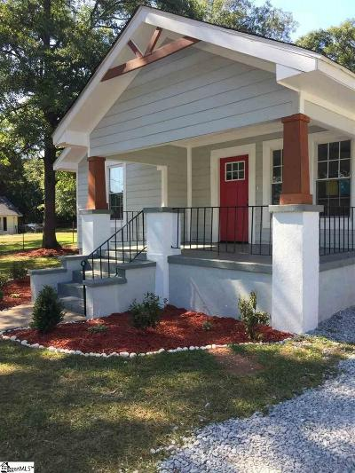 Greer Single Family Home For Sale: 118 Buncombe