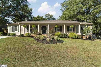 Greer Single Family Home For Sale: 117 Quincy