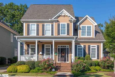 Greenville Single Family Home For Sale: 121 Applewood