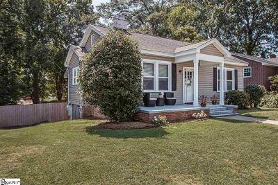 Anderson Single Family Home For Sale: 201 Oak