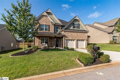 Simpsonville Single Family Home For Sale: 20 Ashby Grove