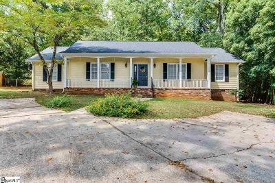 Greer Single Family Home Contingency Contract: 329 Saratoga