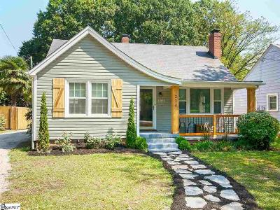 Greenville Single Family Home For Sale: 214 Sycamore