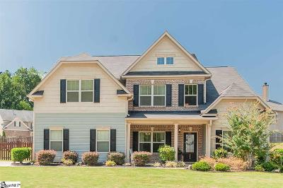 Simpsonville Single Family Home For Sale: 348 Heritage Point