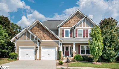 Simpsonville Single Family Home For Sale: 312 Moss Wood