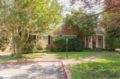 Greenville Single Family Home For Sale: 121 Capers