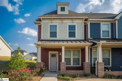 Greer Condo/Townhouse For Sale: 514 Meritage