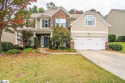 Simpsonville Single Family Home For Sale: 66 Open Range