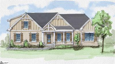 Simpsonville Single Family Home For Sale: 507 Rustic Outland