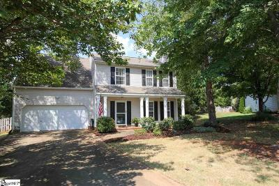 Greenville Single Family Home For Sale: 8 Wheat Cressing