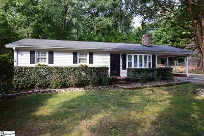 Greenville Single Family Home For Sale: 2 Coleman