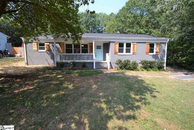 Greenville Single Family Home Contingency Contract: 116 Scarlett