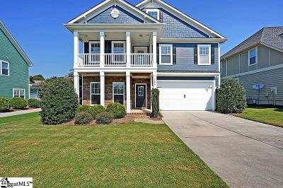 Simpsonville Single Family Home For Sale: 208 Clairhill