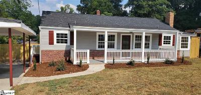 Greenville Single Family Home For Sale: 9 Anchorage