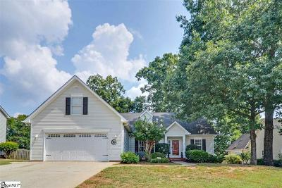 Simpsonville Single Family Home For Sale: 117 Warrenton