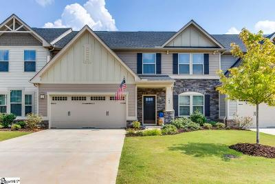Simpsonville Condo/Townhouse For Sale: 106 Vereen