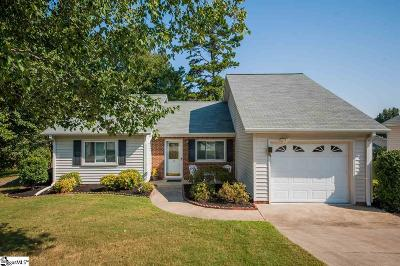Greenville Single Family Home For Sale: 14 Creekdale
