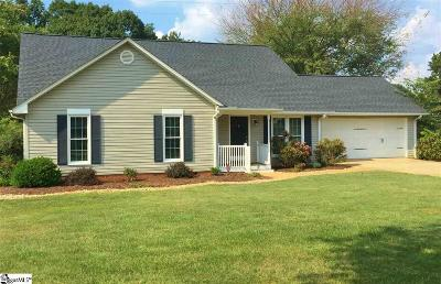 Greenville Single Family Home For Sale: 3 E Fieldsparrow