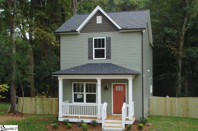 Greenville Single Family Home Contingency Contract: 9 Rodney