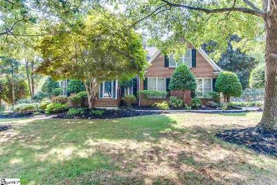 Simpsonville Single Family Home For Sale: 1 Hickory Chip