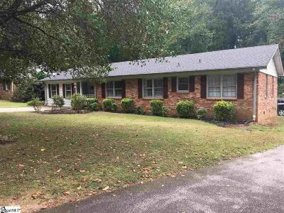 Greer Single Family Home For Sale: 9 Valley