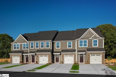 Simpsonville Condo/Townhouse For Sale: 117 Roundtree