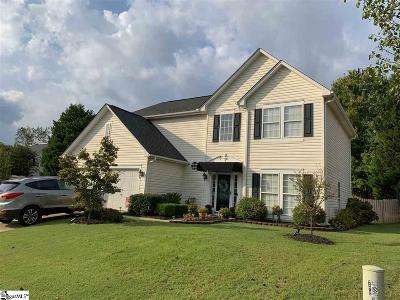 Mauldin Single Family Home For Sale: 6 Laport