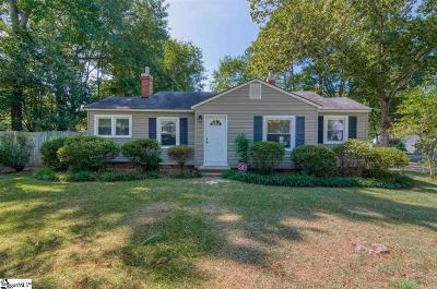 Anderson Single Family Home For Sale: 114 Beulah