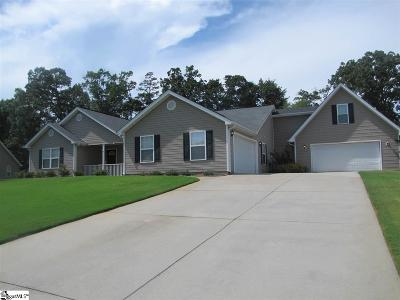 Anderson Single Family Home For Sale: 124 Bean Mill
