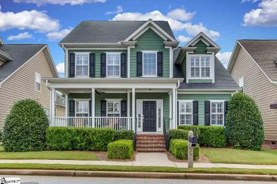 Simpsonville Single Family Home For Sale: 121 Farm Mill