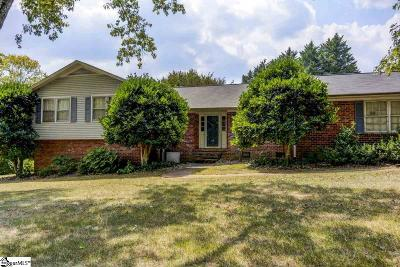 Greenville SC Single Family Home For Sale: $325,000