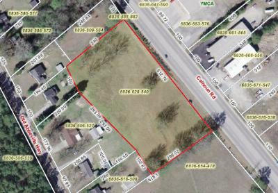 Greenwood County Residential Lots & Land For Sale: Calhoun Rd.