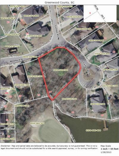 Greenwood County Residential Lots & Land For Sale: 102 Luton Place