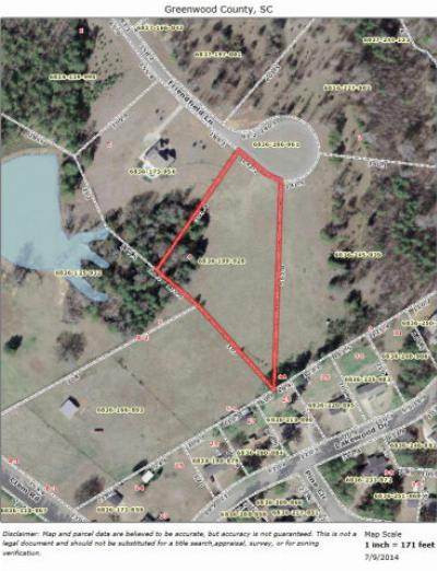 Greenwood Residential Lots & Land For Sale: 118 Friendfield Lane