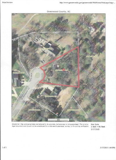 Greenwood County Residential Lots & Land For Sale: 106 Prestwick Court