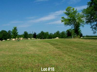 Greenwood County Residential Lots & Land For Sale: 112 Verde Ct - Lot 18