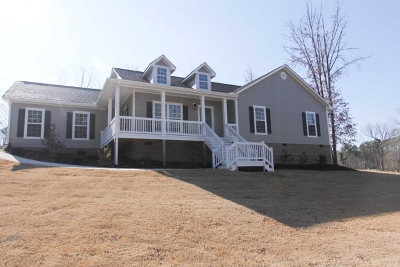 Greenwood County Single Family Home For Sale: 117 King Circle