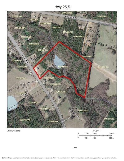 Greenwood Residential Lots & Land For Sale: 4425 S Hwy 25