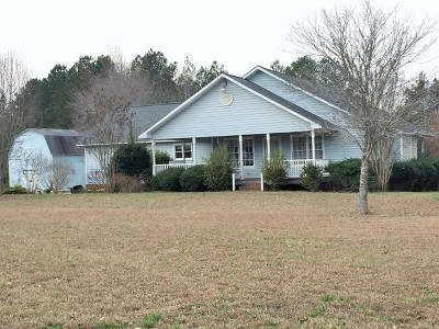 Abbeville Single Family Home For Sale: 80 Austin