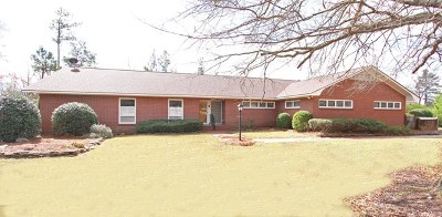 Greenwood County Single Family Home For Sale: 107 W Northside