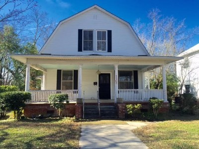 Abbeville Single Family Home For Sale: 603 North Main St.