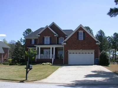 Greenwood Single Family Home For Sale: 108 Tryon Court
