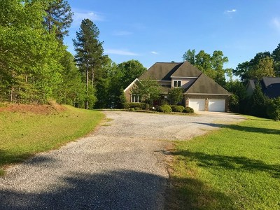 Greenwood County Single Family Home For Sale: 101 Mariners Cove Rd