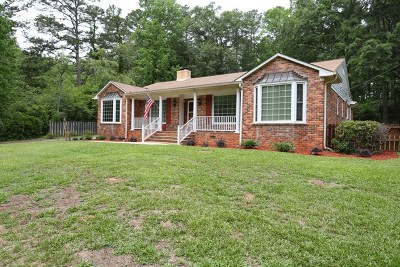 Greenwood County Single Family Home For Sale: 109 Overbrook Drive
