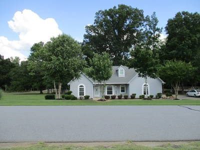 Greenwood County Single Family Home For Sale: 114 Swing About