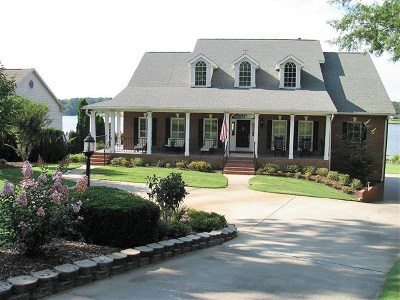 Greenwood County Single Family Home For Sale: 120 Pucketts Cove Road